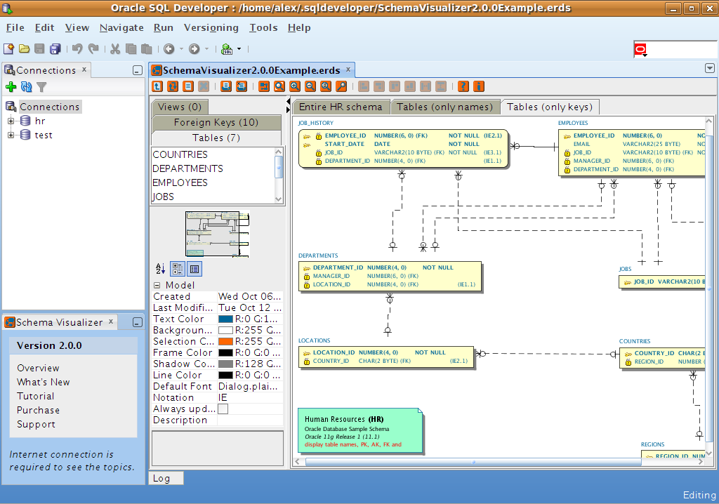 Schema Visualizer for Oracle SQL Developer - SUMsoft Solutions